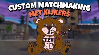 CUSTOM MATCH MAKING met kijkers NL| FORTNITE BATTLE ROYALE (TeamEpicNegen Nederlands) TEN