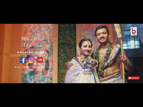 Muralikrishnan  💝 Aathira  I Kerala Brahmin Wedding Story I Highlights | redbirdvisuals |