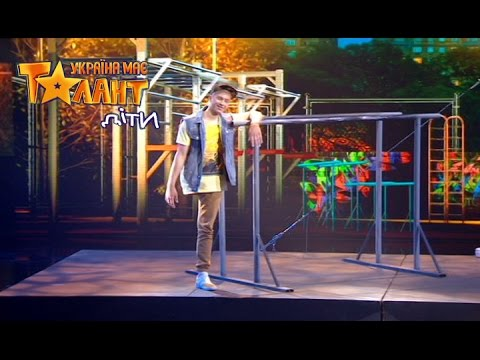He amazes everyone with his incredible courage - Ukraine Got Talent 2017   The First Semifinal