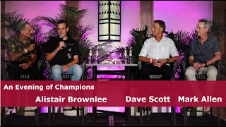 Evening of Champions with Dave Scott, Mark Allen, and Alistair Brownlee