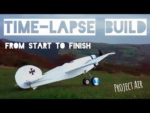 RC Plane (FT-Scout) Time-Lapse/Montage Build!