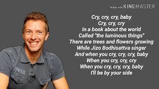 Coldplay - Cry Cry Cry lyrics