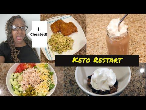 keto-restart|-what-i-eat-in-a-day|-keto-fried-fish|-keto-protein-shake-|-lazy-keto