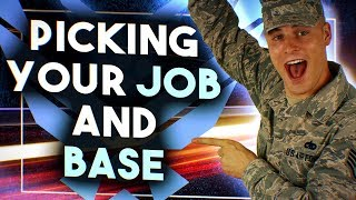 Air Force Jobs and Base Assignments