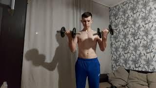 Виды упражнений гантелями в домашних условиях для новичка