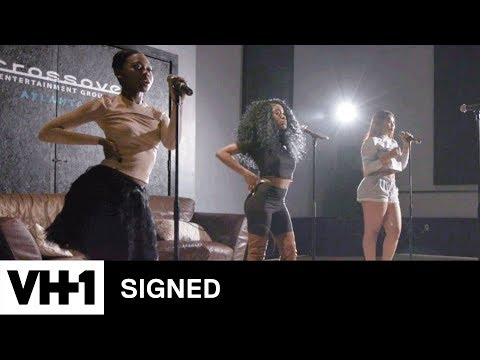 Just Brittany, Bria & Lena Chanel Work On Choreography | Signed
