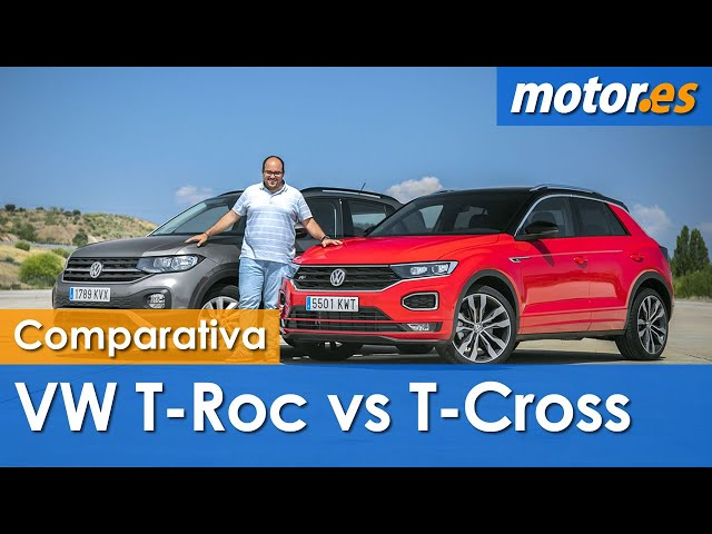 VW T-Cross vs VW T-ROC | Comparativa SUV / Test / Review en español