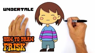 How to Draw Frisk | Undertale