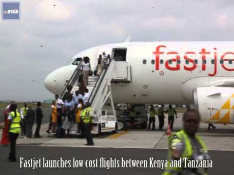 FastJet launches in Kenya, to offer affordable air fare