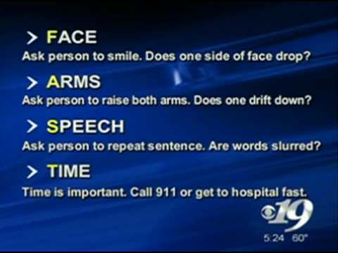 Recognizing Signs of Stroke