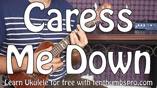 Caress Me Down - Sublime - Ukulele Reggae Tutorial