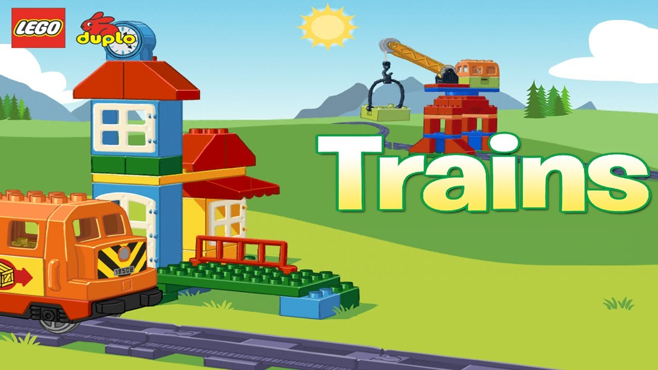 Lego Duplo Train Universal Hd Gameplay Trailer Youtube