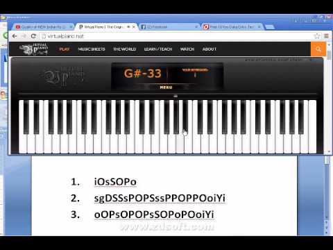 How to Play (Tum hi Ho Online) Virtual piano