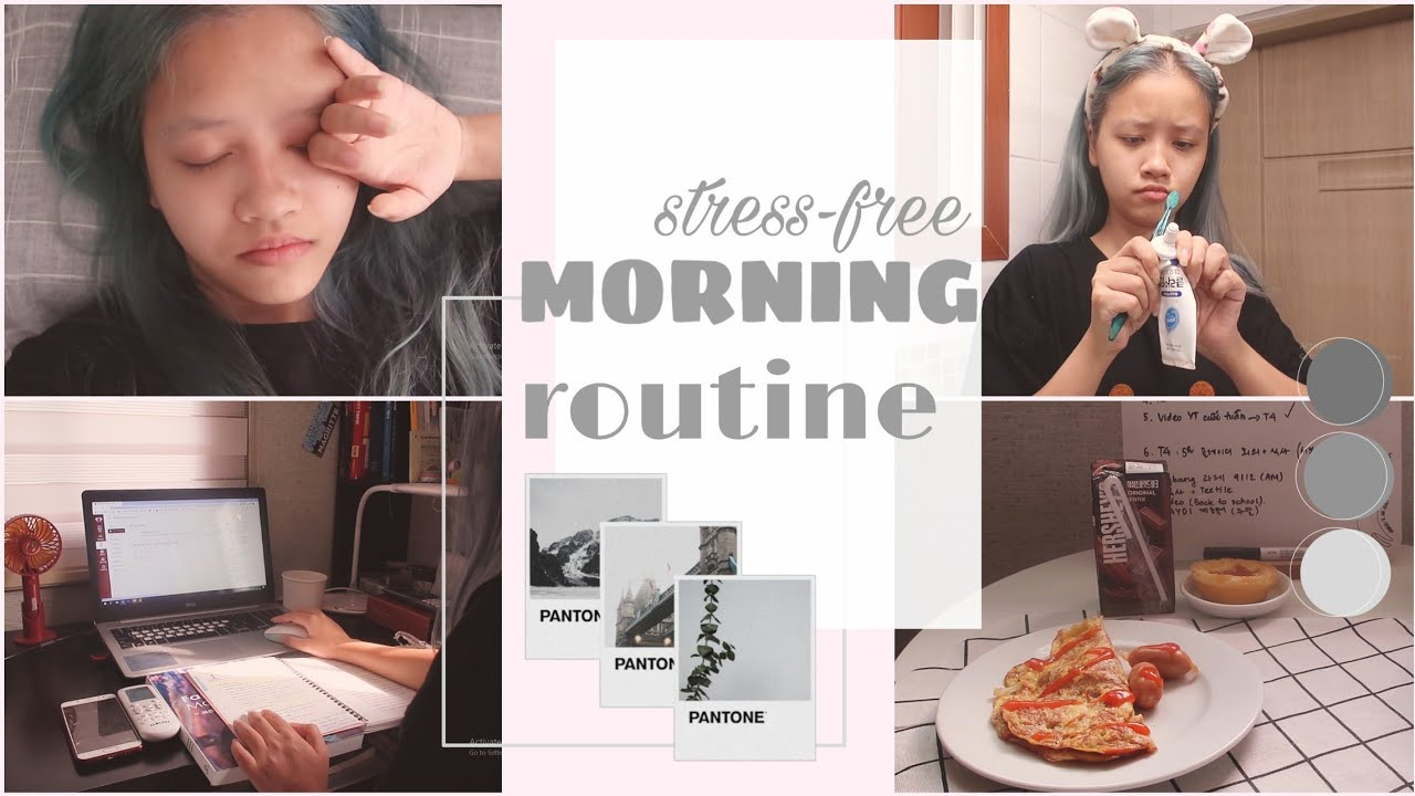 MORNING ROUTINE | một buổi sáng nhẹ nhàng | Ly Nguyễn