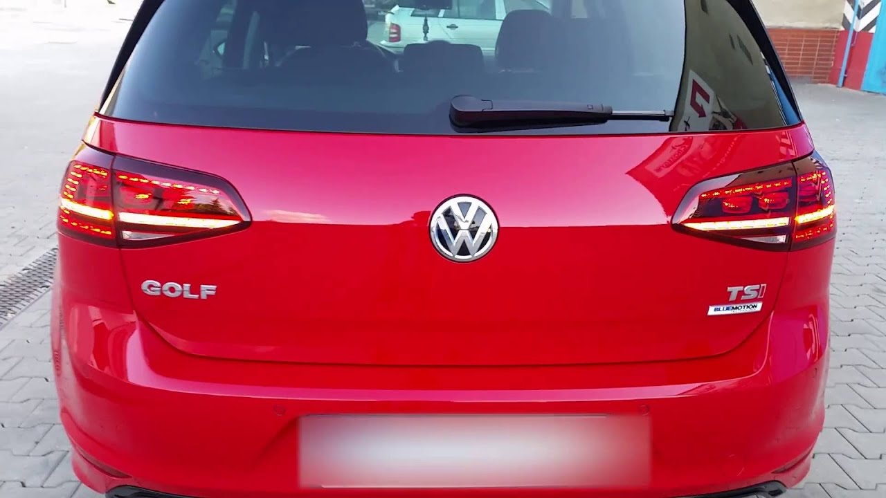 vw golf vii r line youtube. Black Bedroom Furniture Sets. Home Design Ideas