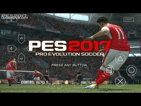 telecharger jeux psp android pes 2017