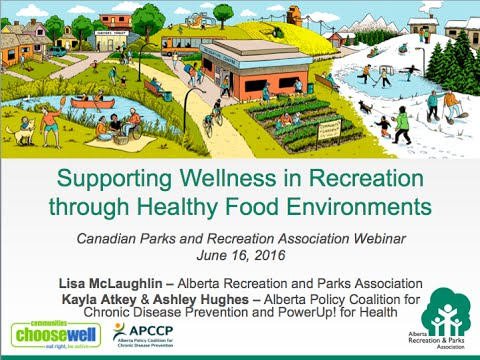 [Webinar] Supporting Wellness in Recreation through Healthy Food Environments