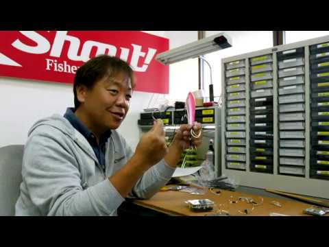シャウト!ツインフックの交換方法説明動画。長編。