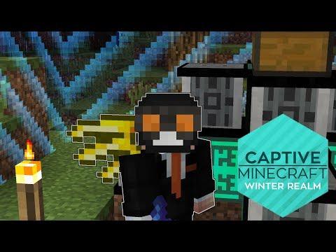 Captive Minecraft - ep 13 - UN MINER MAI BUN | Minecraft Modat