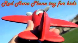 Red Aero Plane Toy For Kids By Green Toys Airplane   Amazon Toy For Kids