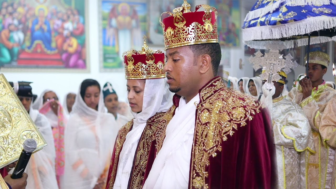 Beautiful Ethiopian Wedding - Ethiopian Orthodox Church - Seble + Dr. Neway
