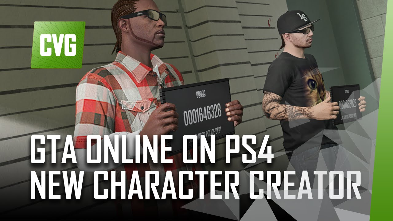 Gta Online On Ps4 - Awesome New Character Creator