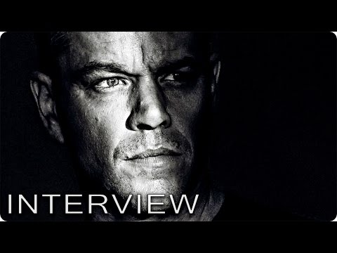 MATT DAMON & ALICIA VIKANDER Interviews zu JASON BOURNE - Patze Talks