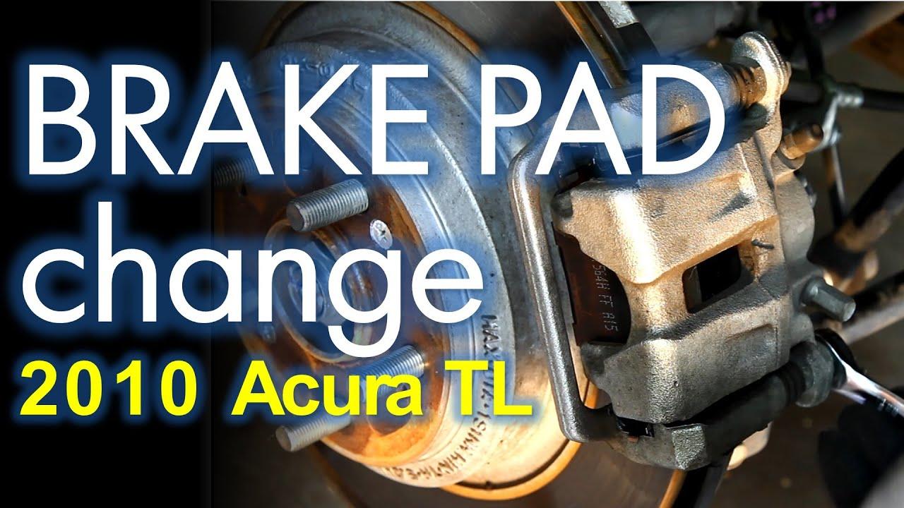 Brake Job Acura TL Th Generation Front And Rear Brake Pad - Acura tl brake pads
