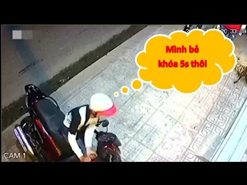 Đứng Hình Kẻ Trộm Bẻ Khóa Xe SH Trong 5 Giây Ở Tp. Hồ Chí Minh || Hội Cướp Xế Pro