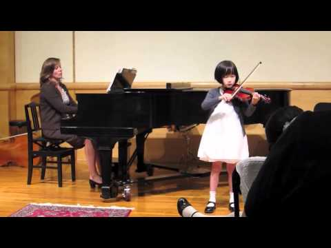Alex Spring 2011 Recital