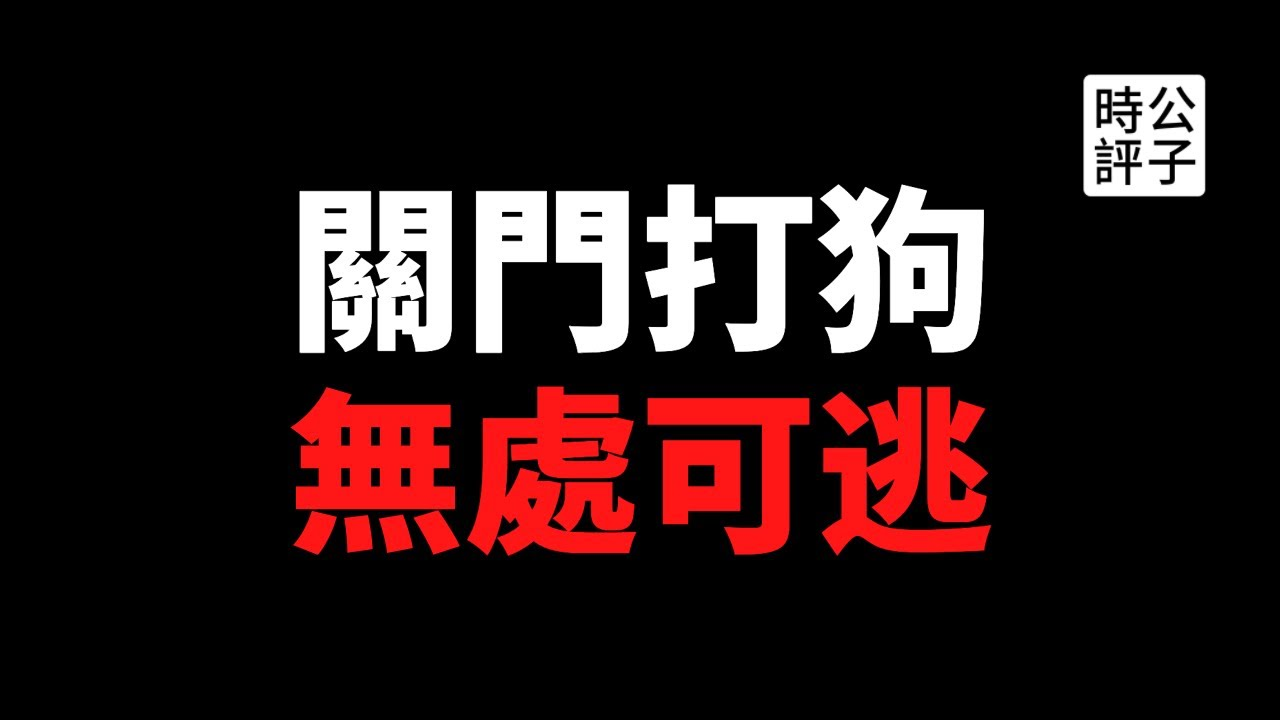 【公子時評】出不了国了!中国正式宣布停发护照,网友讲述跑路惊险一刻!闭关锁国、西方制裁、全球化危机,疫情过后的中国和世界大不同!
