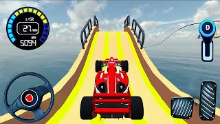 Mega Ramp Car Stunt - Formula Car Racing Game 2020 #1 - real car racing #Android iOS Gameplay