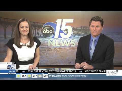 Amanda Live with Clydesdales at Thompson Farm - Good Morning Carolinas - WPDE ABC 15