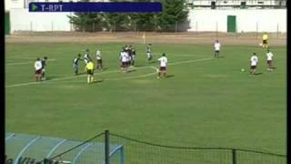 Roberto Merino Ramirez gol in Salernitana - San Giovanni Rotondo 1 - 0 02/09/2010