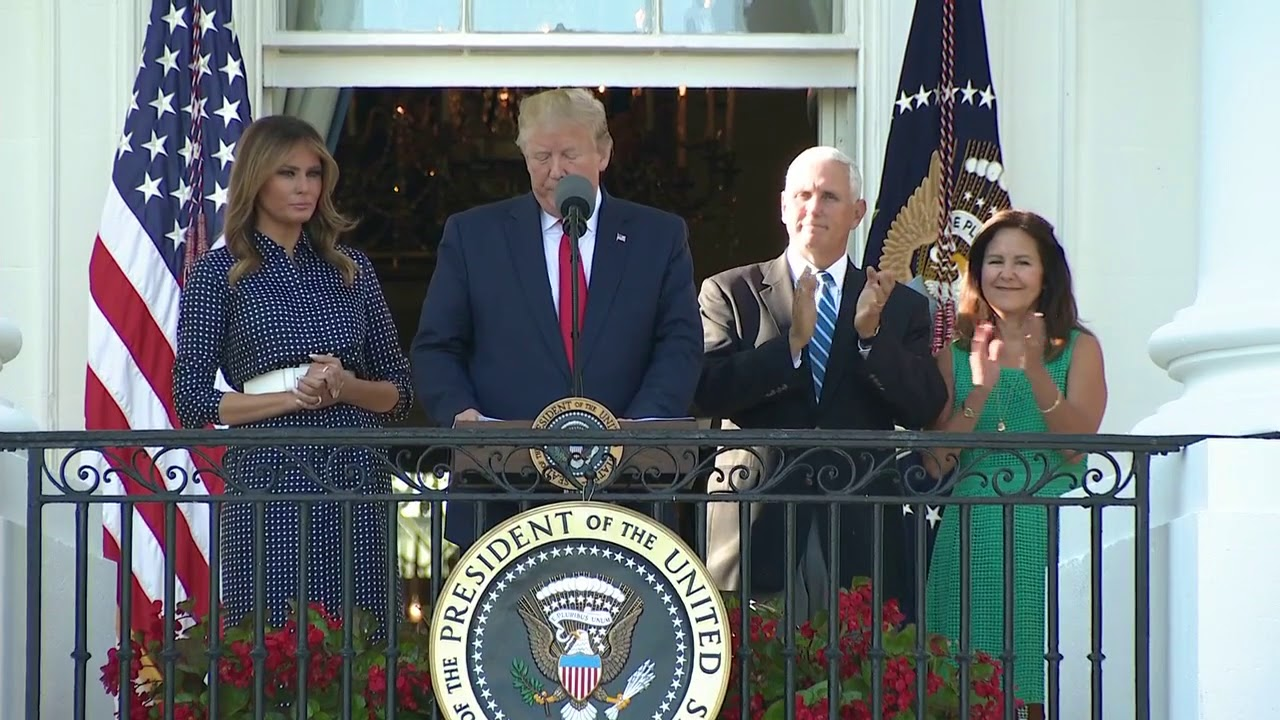 CONGRESSIONAL PICNIC: President Trump hosts annual event at the White House