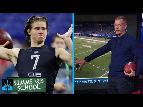 Chris Simms QB School: NFL Draft prospect QB Justin Herbert | Chris Simms Unbuttoned | NBC sports