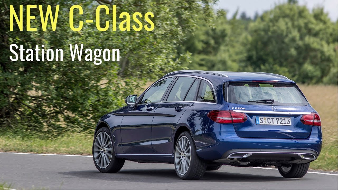 2019 mercedes c 220d estate - all new c-class wagon