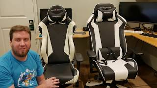 DXRacer King series vs Racing series comparison (thoughts and first impressions)