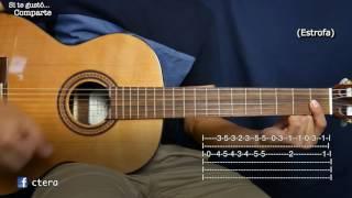 A mi Manera (My Way) - Tutorial/Como tocar en Guitarra