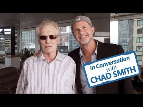 In conversation: Chad Smith with Ginger Baker