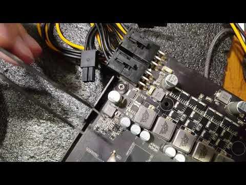 Ремонт цепи питания видеокарты Asus GTX560