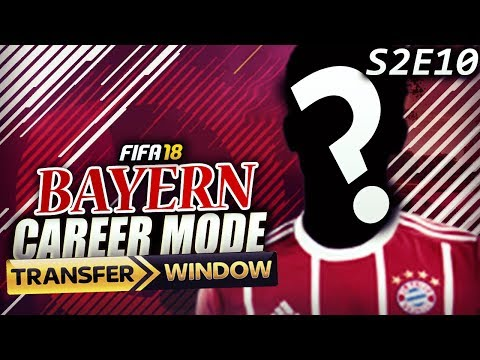 TRANSFER WINDOW OPENS! WE SIGN TWO 88 RATED PLAYERS!!! - FIFA 18 Bayern Career Mode S2E10