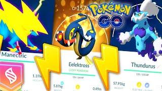 Mega Manectric Raids & New Eelektross in Pokemon GO // New Electric Event details & Mega Counter