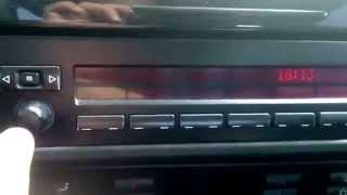 #BMW #E39 #Приховані налаштування магнітоли,RDS