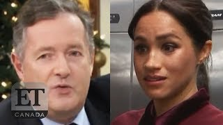 Piers Morgan Accuses Meghan Markle Of 'Ghosting' Him