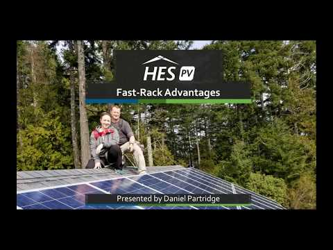 Fast-Rack | Solar Panel Racking System | HES PV