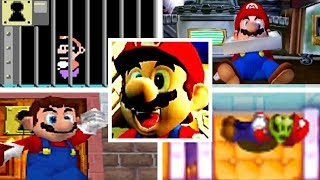 Evolution Of MARIO BEING RESCUED (1992-2017)