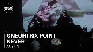 Oneohtrix Point Never Ray-Ban x Boiler Room 005 | Hudson Mohawke Presents