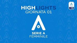 Highlights 1° giornata Serie A 2020/2021