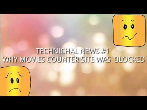 Why movies counter site was blocked...